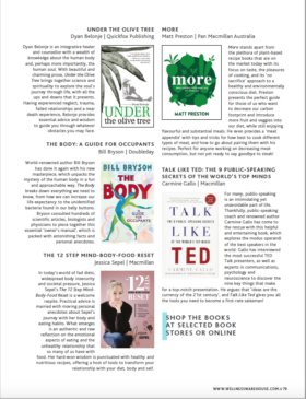 Wellness Magazine-Under the Olive Tree